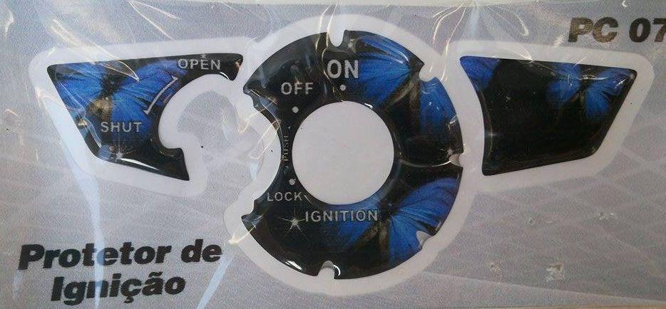 Adesivo Protetor de Igniçao Titan Fan 150