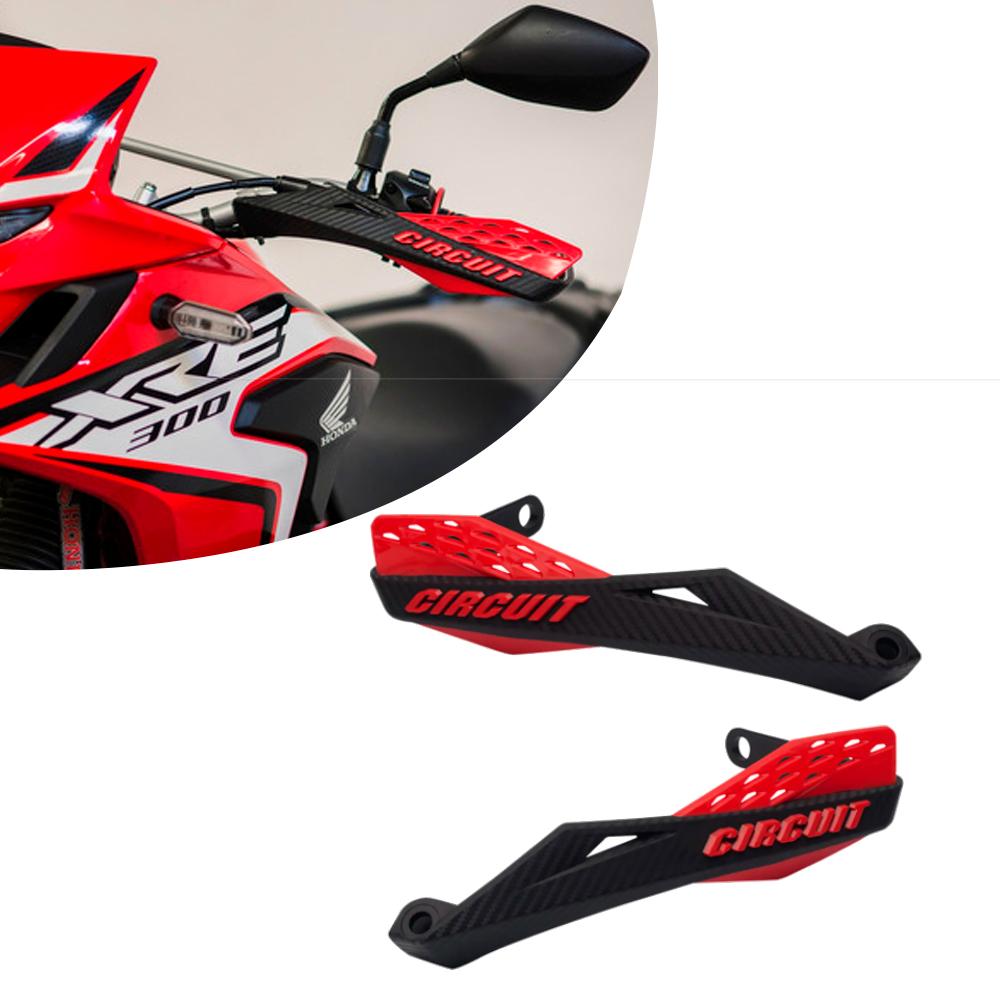Protetor de Mão Universal Fenix Preto/Vermelho Circuit