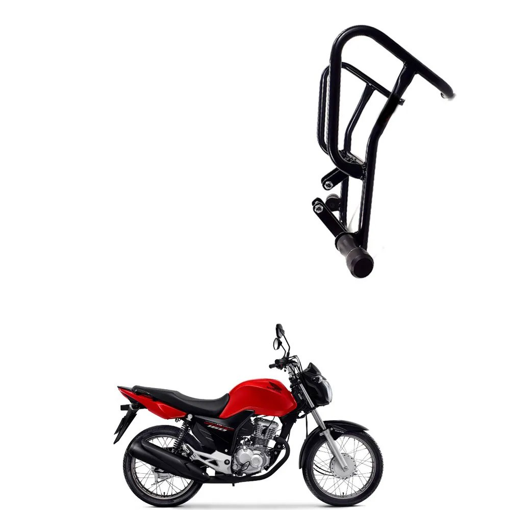 Protetor de Motor e Carenagem c/ pedaleiras Titan 160 Chapam
