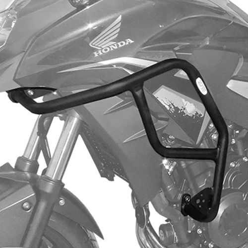 Protetor de Motor e Carenagem CB 500 X c/ Pedaleira Scam  - Motorshopp