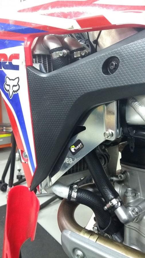 Protetor de Radiador CRF 250 Polido Start Racing