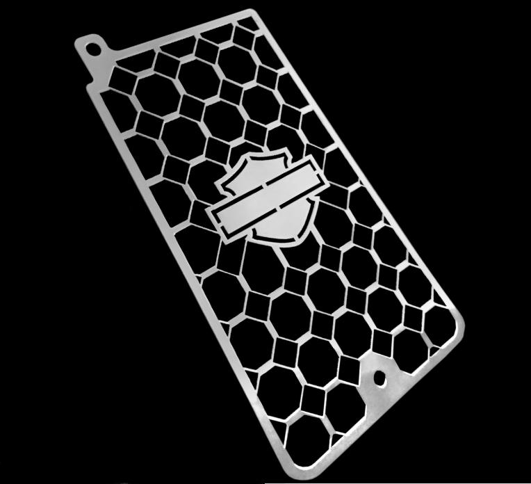 Protetor Radiador Softail Breakout 2018 Inox Cobra  - Motorshopp