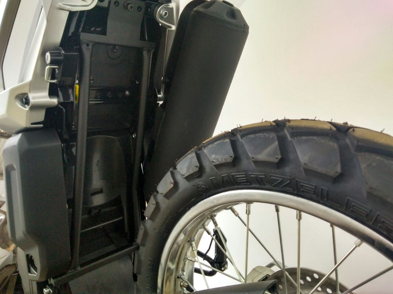 Reforço de Quadro Tenere 250 Bráz  - Motorshopp