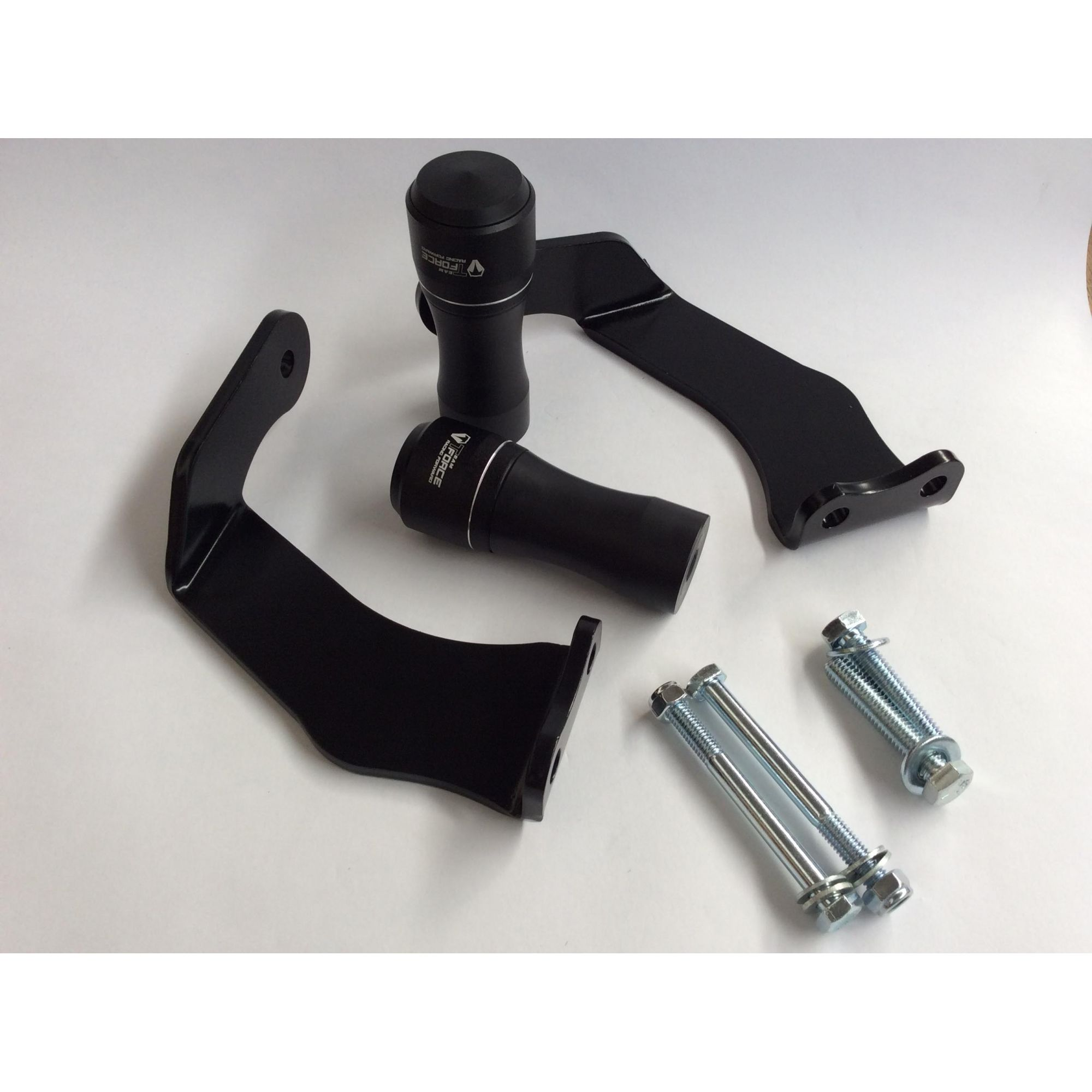 Slider XRE 190 / Bros 160 / 150 Lite Black Team Force  - Motorshopp