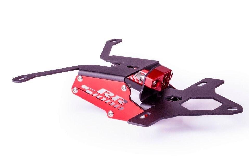Suporte de Placa S1000RR Eliminador Rabeta Evolution  - Motorshopp