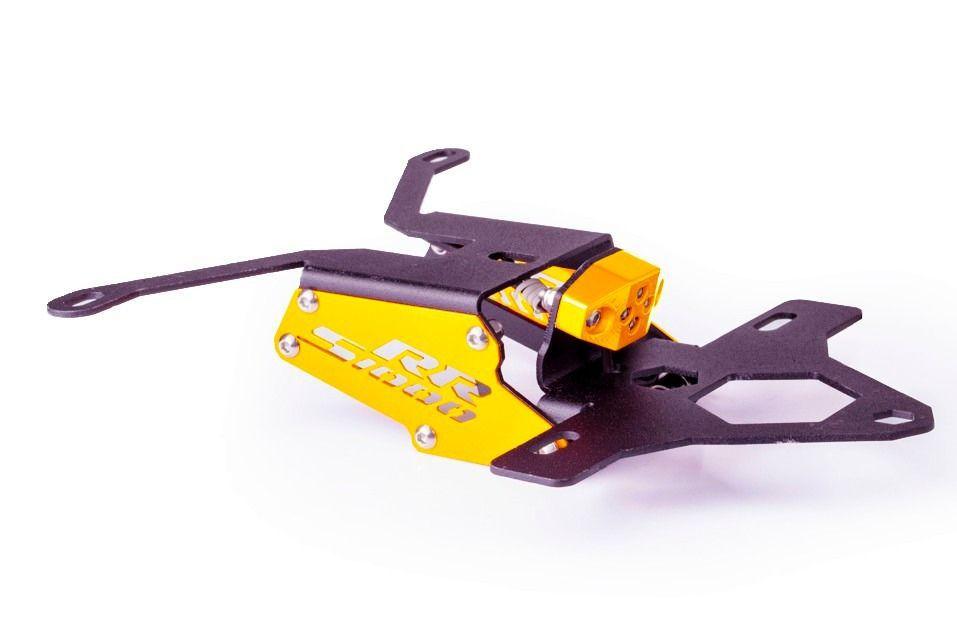 Suporte de Placa S1000RR Eliminador Rabeta Evolution