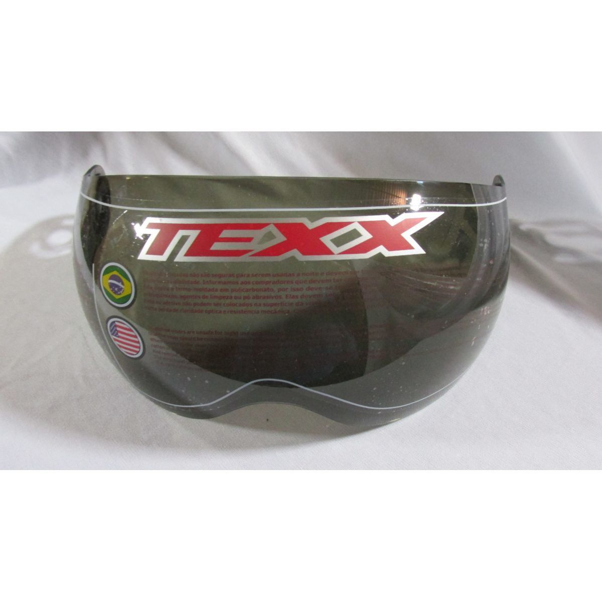 Viseira para capacete Texx arsenal   New Breeze  - Motorshopp