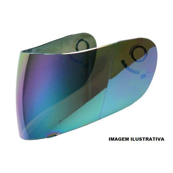 Viseira para capacete Ebf E8 Escamotiavel