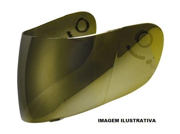 Viseira Nasa SH821 GDR Blackblade