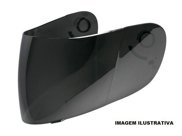 Viseira Nasa SH821 GDR Blackblade  - Motorshopp