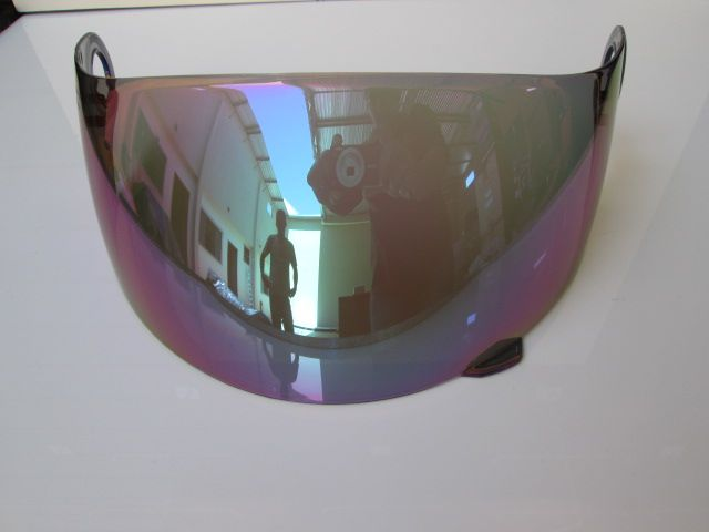 Viseira para capacete SSS Blackblade Luminii FF806