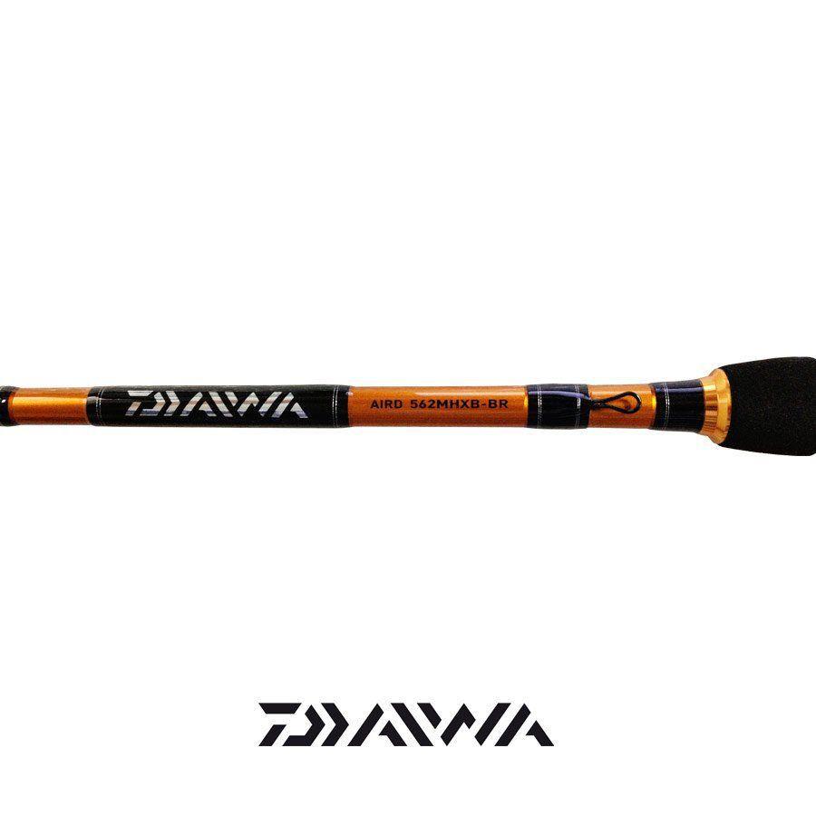 Kit Tucunaré Daiwa - Carretilha Laguna 100HS, Vara Aird Rod 562 (1,68m) 8-16Lbs 2 Partes e Linha Samurai Braid 0,25mm 30Lbs 274m