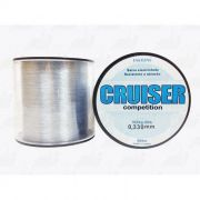 Linha Fastline Cruiser Competition (Transparente) 0,330mm 23lb 10,5Kg Nylon 500m