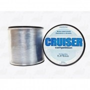Linha Fastline Cruiser Competition (Transparente) 0,470mm 40lb Nylon 500m