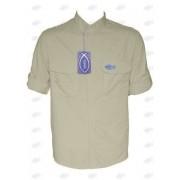 Camisa Masculina Veefs Bege Tamanho P