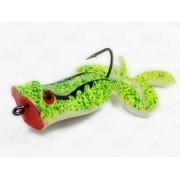 Isca Marine Sports Art Frogger Sapinho Cor 49 Verde Traços Pretos