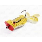 Isca Marine Sports Art Frogger Sapinho Cor 53 Amarelo Traços Pretos