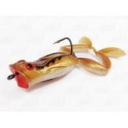 Isca Marine Sports Art Frogger Sapinho Cor 55 Marrom Traços Pretos