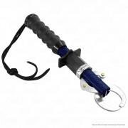 Alicate Pega Peixe Combat Jogá Azul Balança com Pinça ABS 21 kg