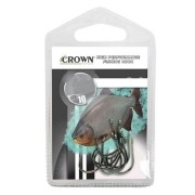 Anzol Crown Chinu Black Número 6 com 10 Unidades