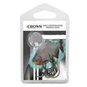 Anzol Crown Chinu Black Número 8 com 10 Unidades