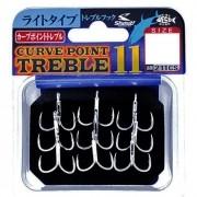 Garatéia Shout Curve Point Treble 11 211CS Triple Hook Anzól
