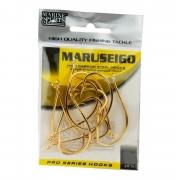 Anzol Marine Sports Maruseigo Gold 10 Cartela com 50 Unidades