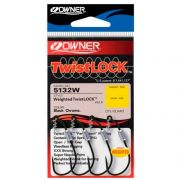 Anzol Owner Weighted Twist Lock TL-12 4/0 c/ 3 unidades