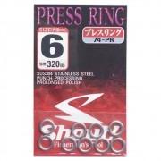 Argola Shout Press Ring Tamanho 6 320LB Para Suporte Hook Cartela com 9 unidades