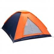 Barraca de Camping Nautika Panda 6 para Até 6 Pessoas