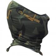 Máscara de Proteção Black Neck Faca na Rede Camouflage