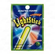 Bóia Sinalizadora Star Light Albatroz 4,5 cm com até 35 metros de distância para Pesca Noturna Cartela com 2 Unidades