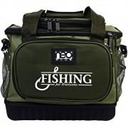 Bolsa de Pesca Fishing Bag Neo Plus Cor Verde c/ Alça Ajustável