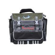Bolsa De Pesca Sumax SM 905 Verde Com Preto Com Caixa Para Isca 18 Litros