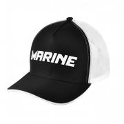 Boné Marine Sports Pescador Preto e Branco