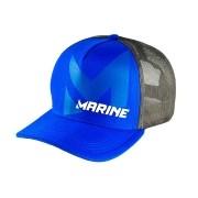 Boné para Pesca Marine Sports Modelo Americano Azul