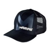 Boné para Pesca Marine Sports Modelo Americano Preto