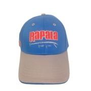 Boné Rapala com Regulagem em Velcro Cor Azul e Cinza