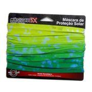 Máscara de Proteção Solar Monster 3X Cor Brasil com Filtro UV