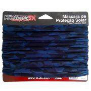 Máscara de Proteção Solar Monster 3X Cor Fishing Blue com Filtro UV