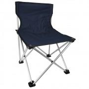 Cadeira Retrátil para Pesca e Camping Jogá Cor Azul em Aço Suporta até 120 kg