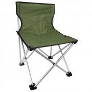 Cadeira Retrátil para Pesca e Camping Jogá Cor Verde em Aço Suporta até 120 kg Tamanho P