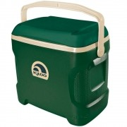 Caixa Térmica Cooler Igloo Contour Sportsman 28 Litros Verde com Alça para Transporte