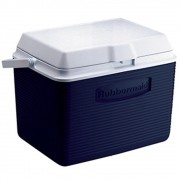 Caixa Térmica Rubbermaid Echolife 23 Litros Azul com Alça para Transporte