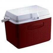 Caixa Térmica Rubbermaid Echolife 23 Litros Vermelha com Alça para Transporte