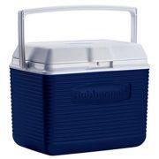 Caixa Térmica Rubbermaid Echolife 9,5 Litros Azul com Alça para Transporte