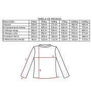 Camisa de Flutuação Manga Curta Floating Mar & Cia 50kg Proteção UV 50+ Cor Azul Royal