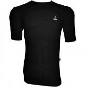 Camisa de Flutuação Manga Curta Floating Mar & Cia 100kg Proteção UV 50+ Cor Preta