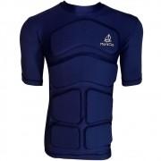 Camisa de Flutuação Manga Curta Floating Mar & Cia 50kg Proteção UV 50+ Cor Azul