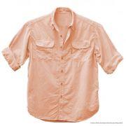 Camisa de Pesca Feminina Ballyhoo Crisis Cor Laranja Com Filtro UV até 50 UPF